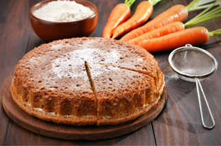 Gluten, Dairy and Egg-Free Carrot Cake