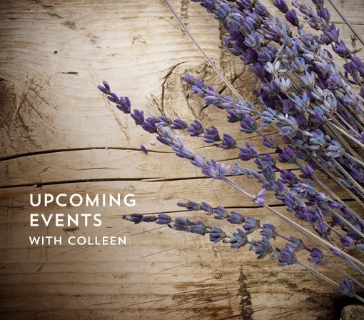 Upcoming Events with Colleen